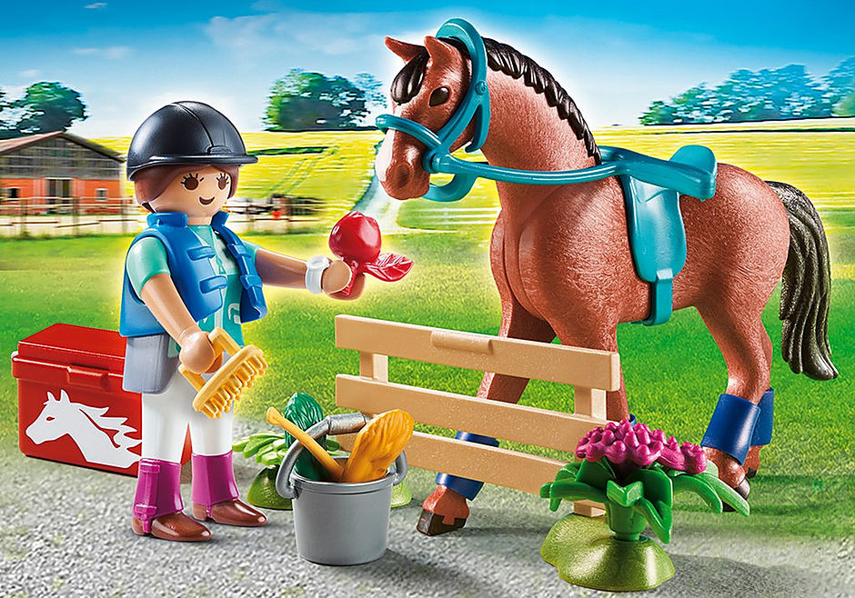 "70294 ""Cadeauset """"Paarden"""""" detail image 1"