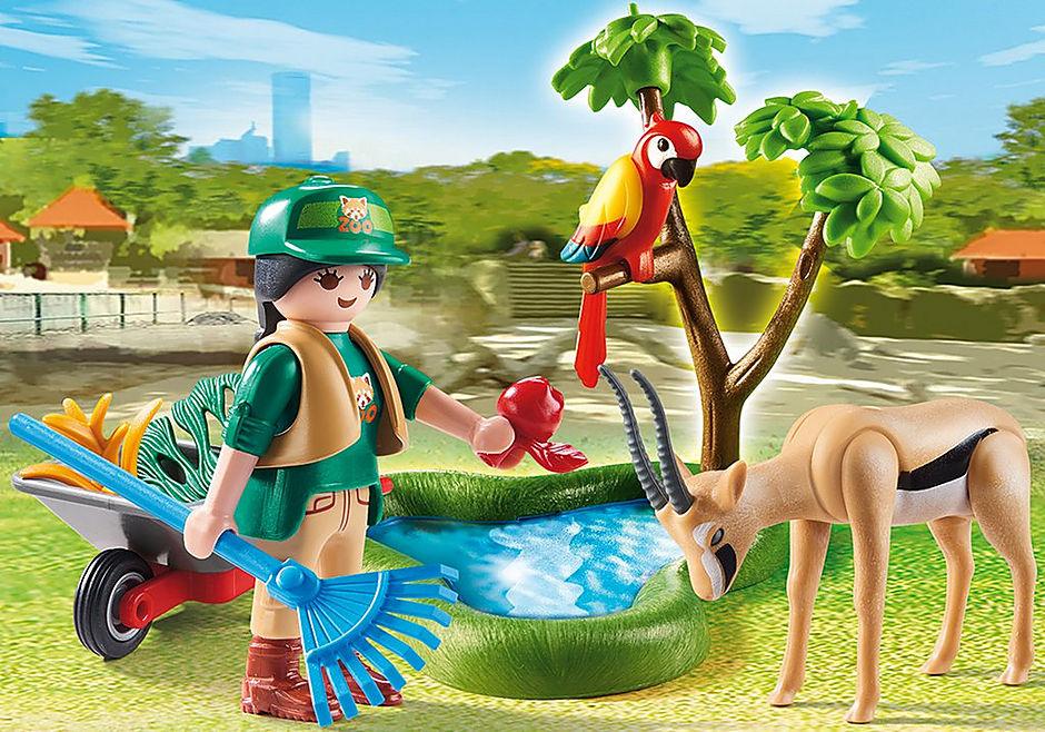 70295 Set do Jardim Zoológico detail image 1