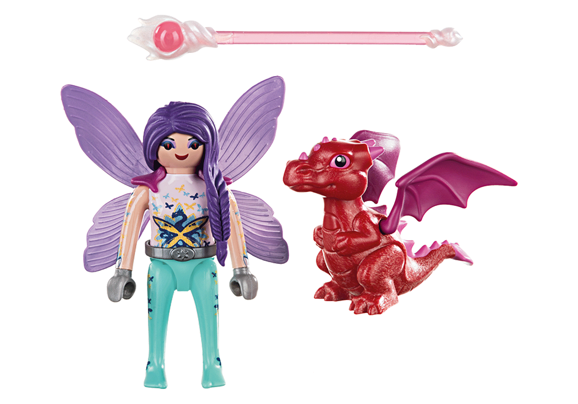 70299 Fairy with Baby Dragon zoom image3