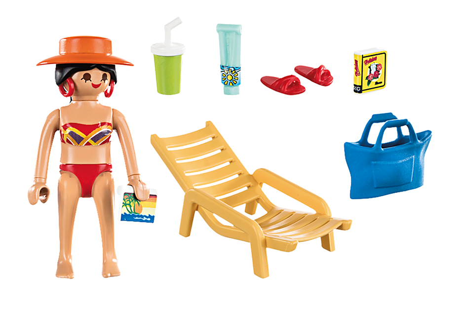 70300 Sunbather with Lounge Chair detail image 3