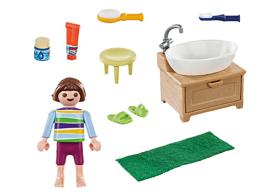 70301 Dziewczynka przy umywalce detail image 3