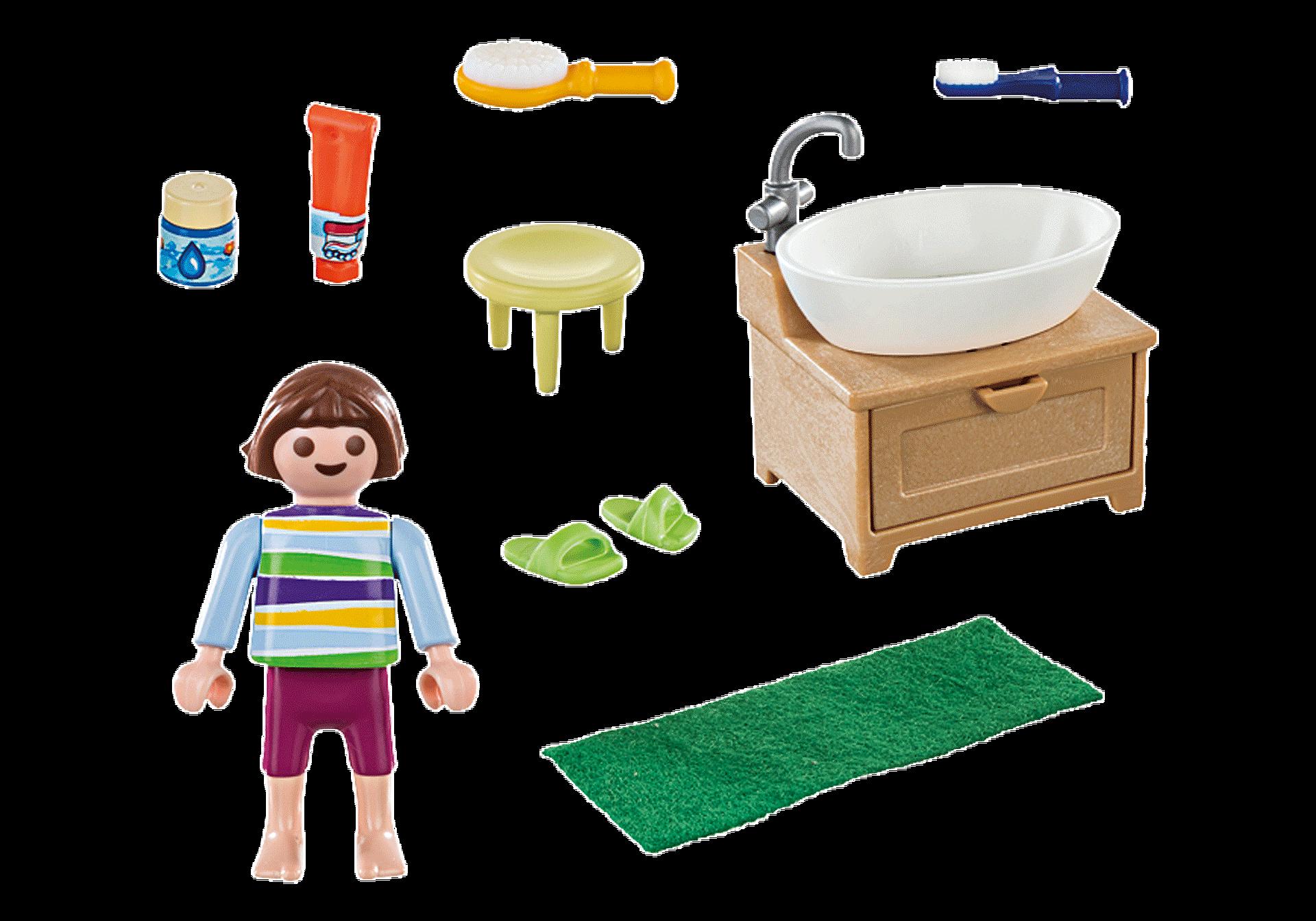 70301 Dziewczynka przy umywalce zoom image3