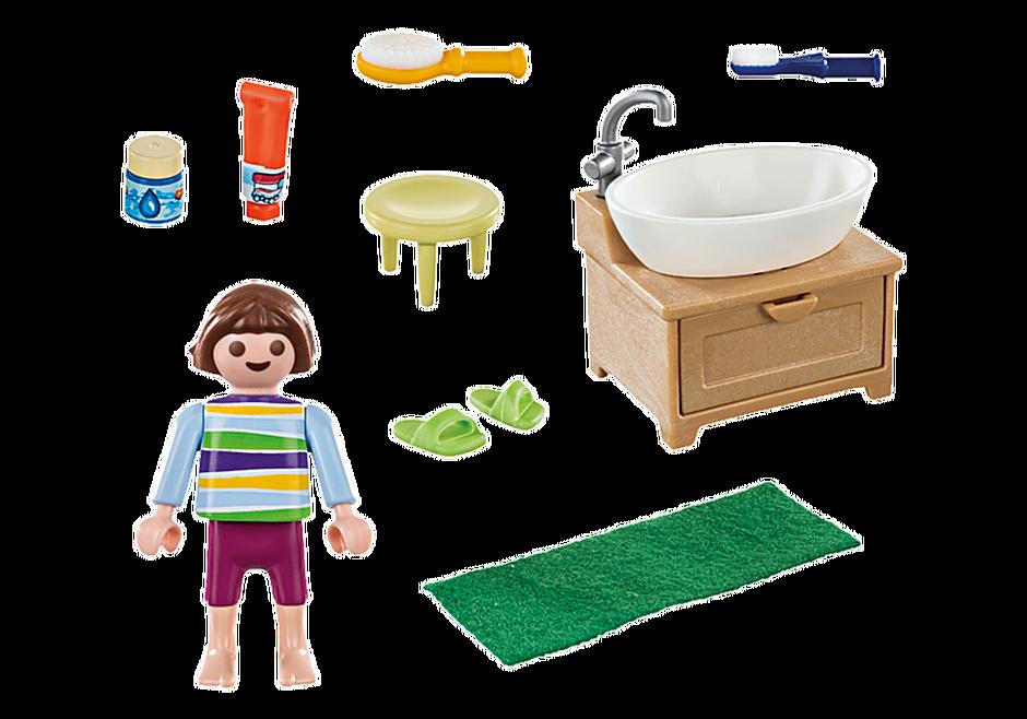 70301 Enfant avec lavabo detail image 3