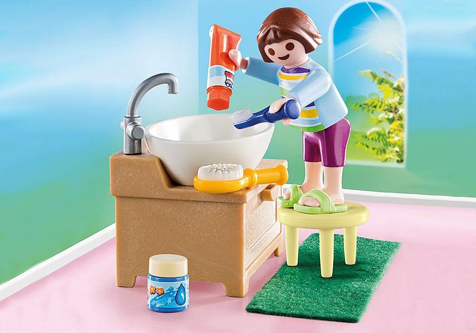 70301 Dziewczynka przy umywalce detail image 1
