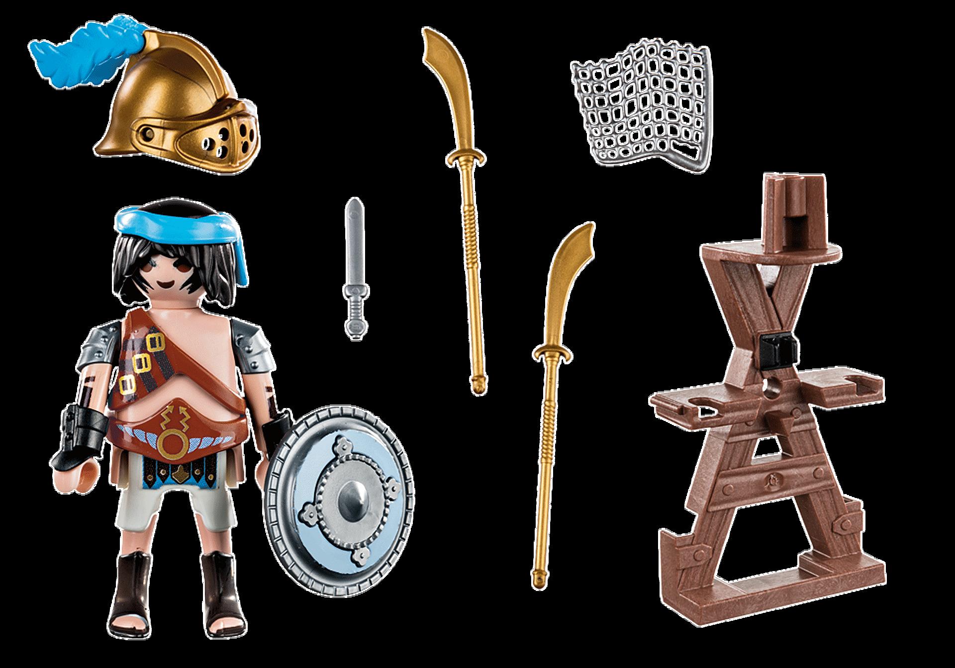 70302 Gladiateur avec armes zoom image3
