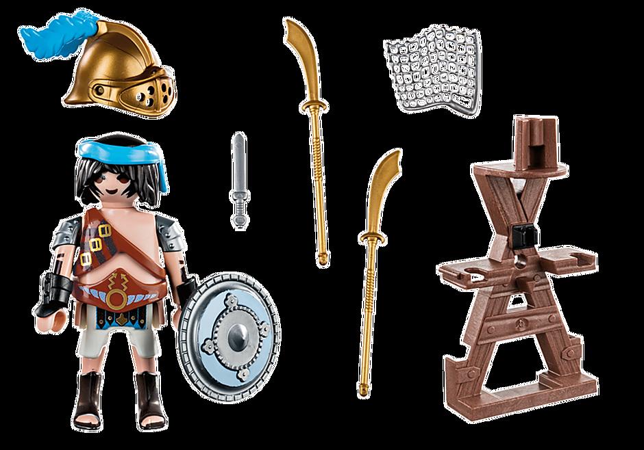 70302 Gladiator mit Waffenständer detail image 3