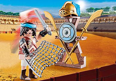 70302 Gladiator med våbenstativ