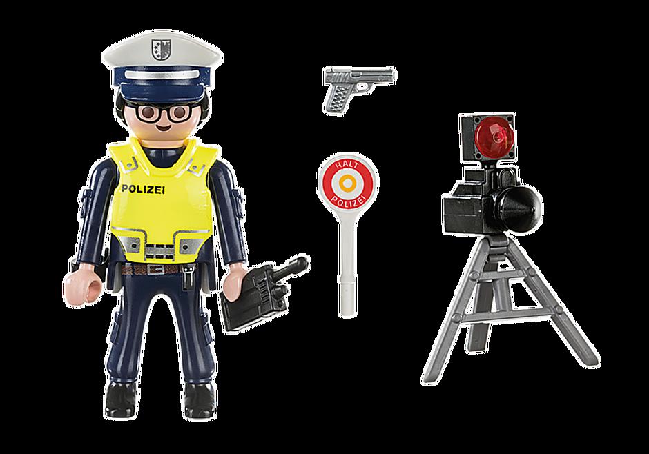 70304 Policier avec radar detail image 3