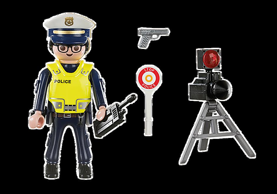 70305 Policier avec radar detail image 3