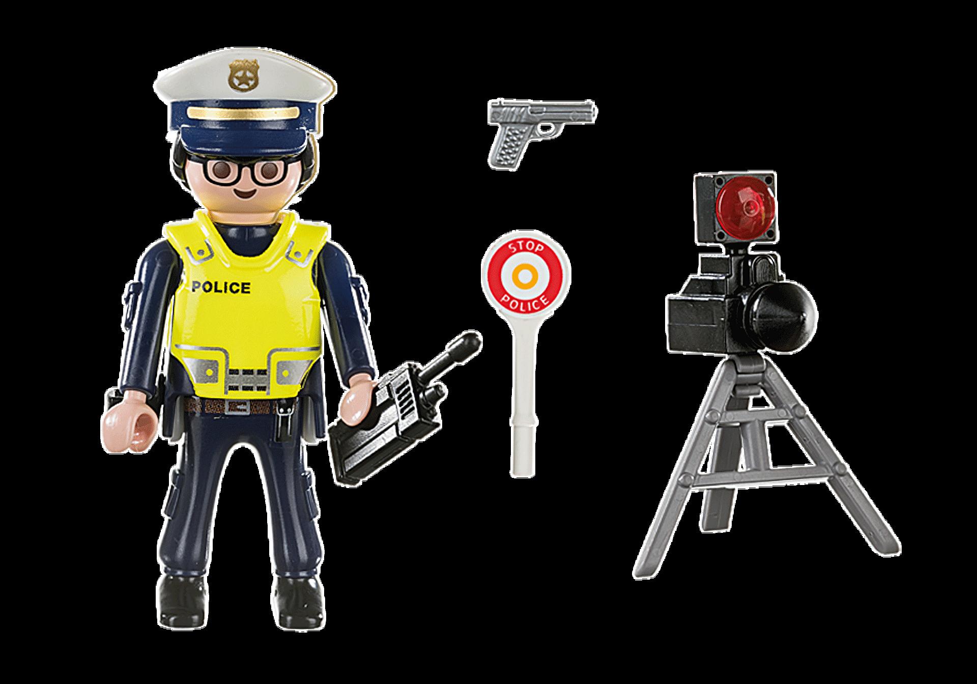 70305 Policier avec radar zoom image3