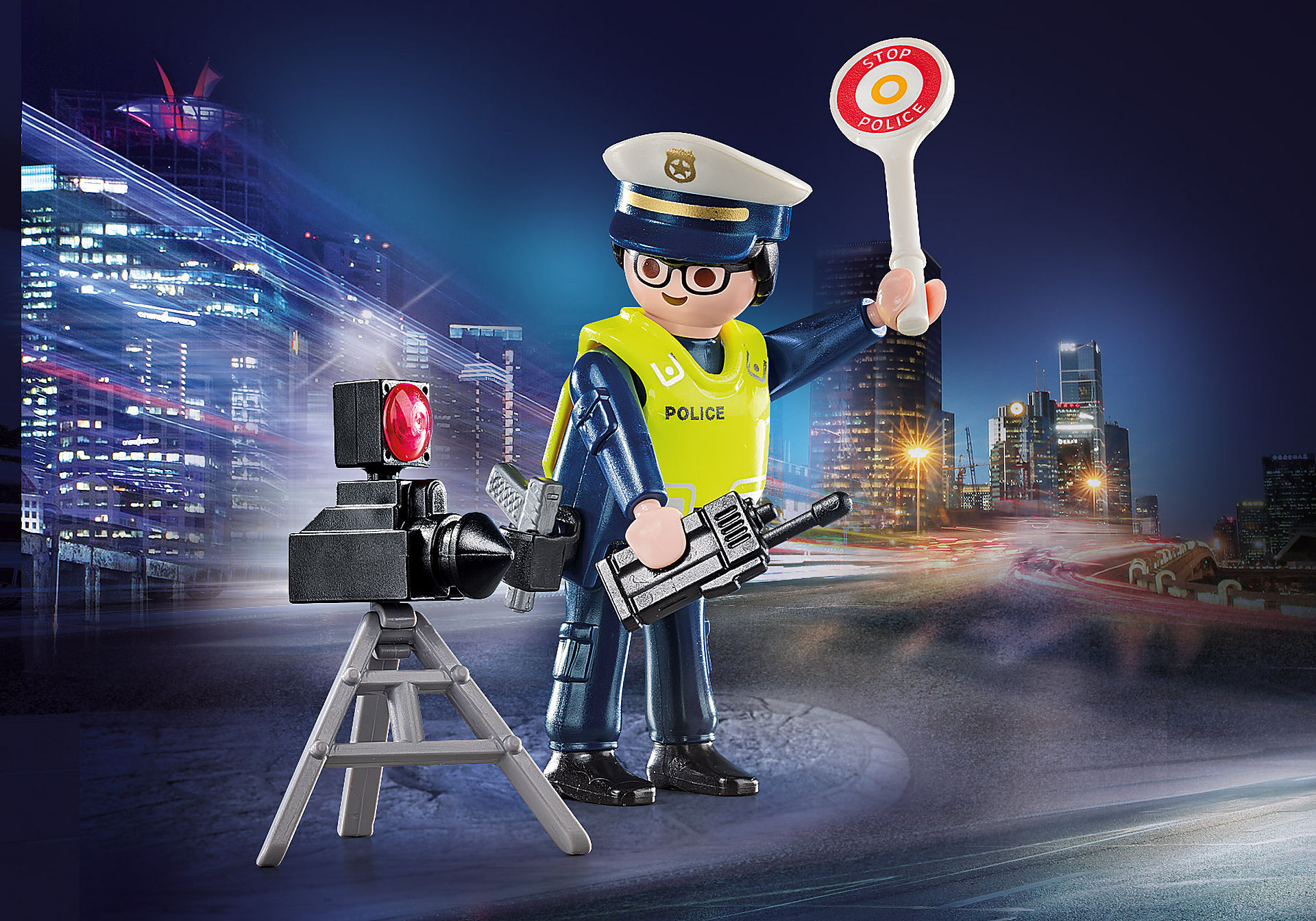 70305 Police Officer with Speed Trap zoom image1