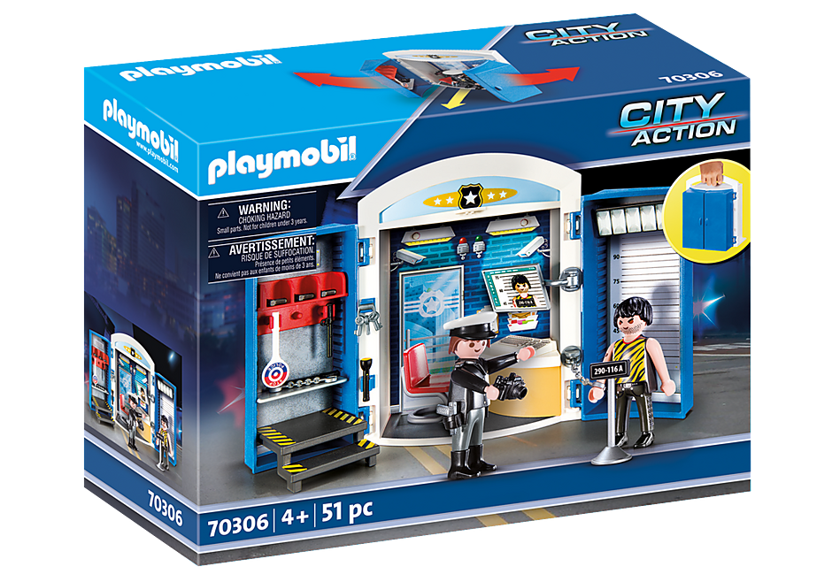 "http://media.playmobil.com/i/playmobil/70306_product_box_front/Spielbox ""In der Polizeistation"""