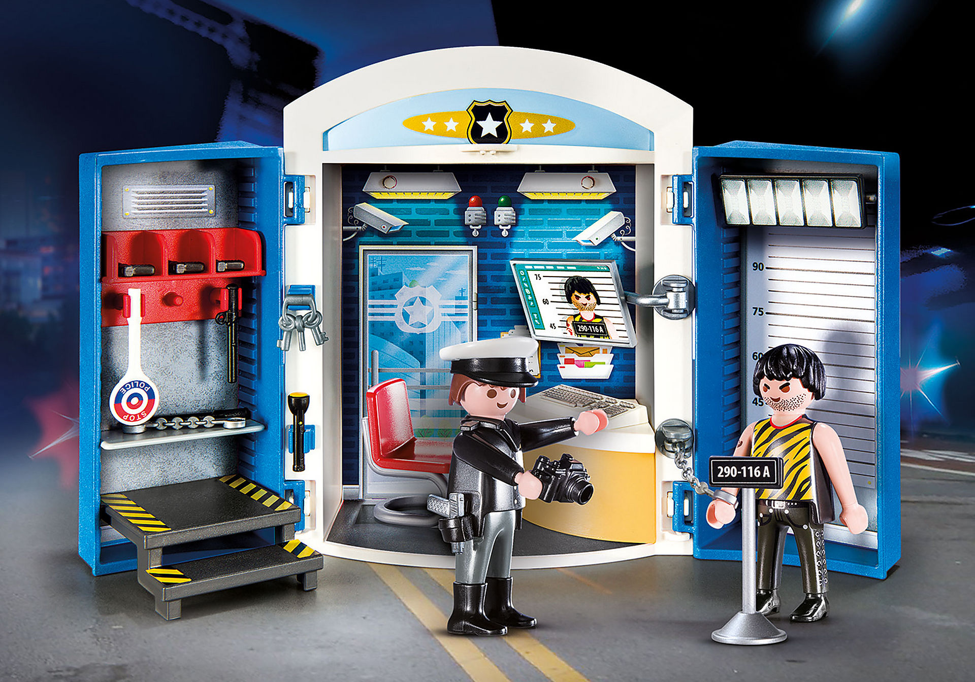 70306 Police Station Play Box zoom image1