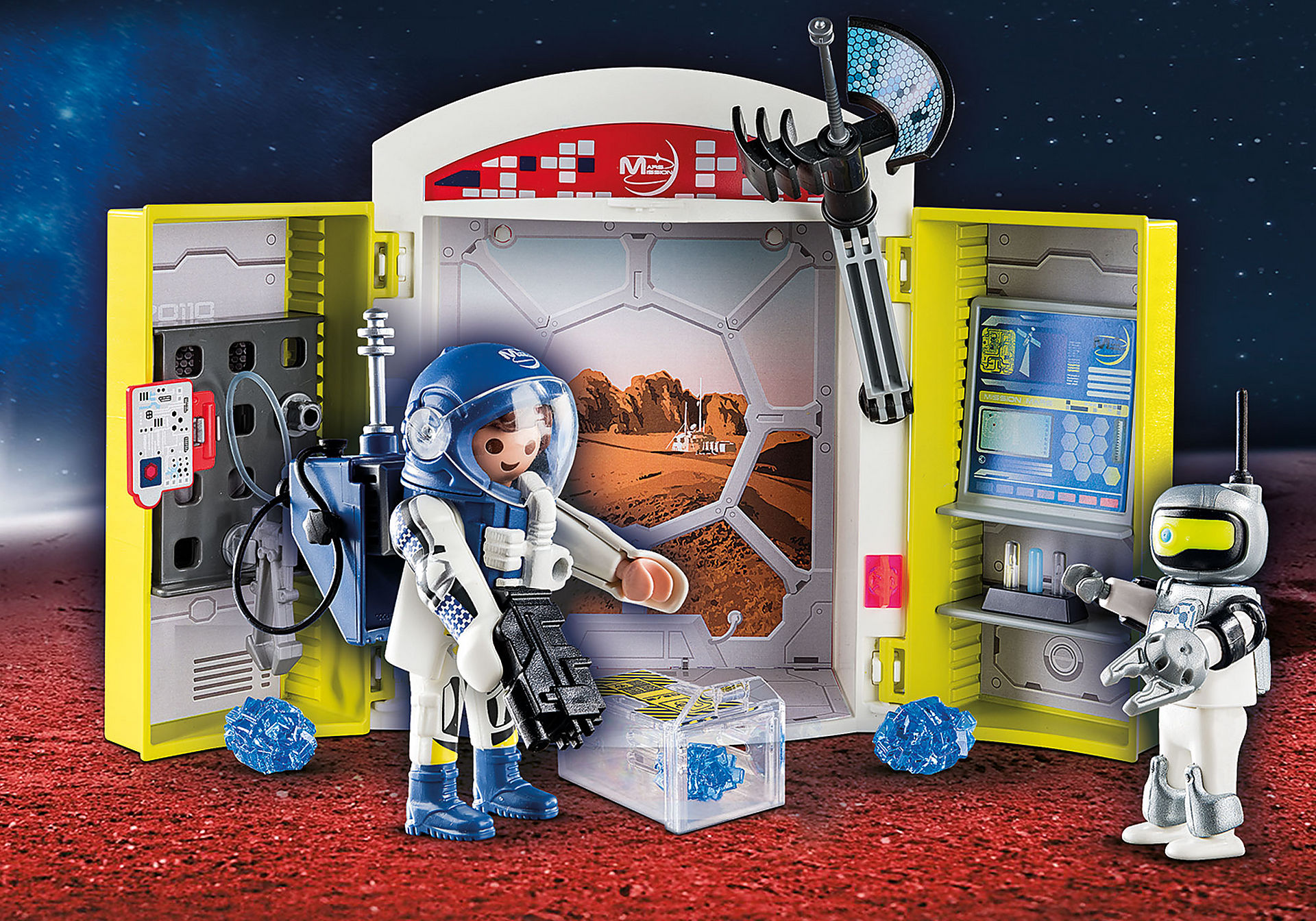 70307 Mars Mission Play Box zoom image1