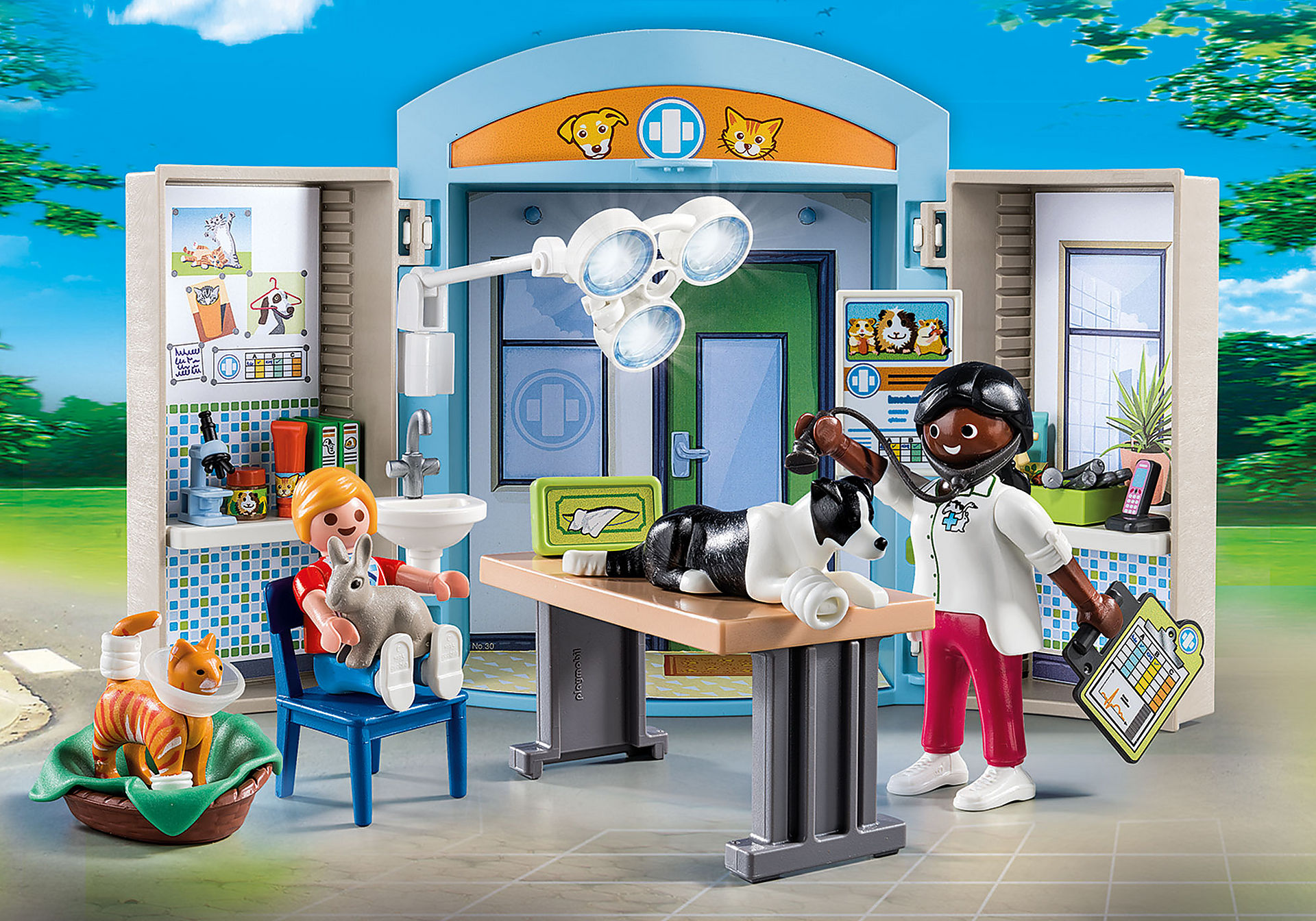 70309 Vet Clinic Play Box zoom image1