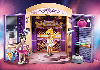 70316 Dance Studio Play Box