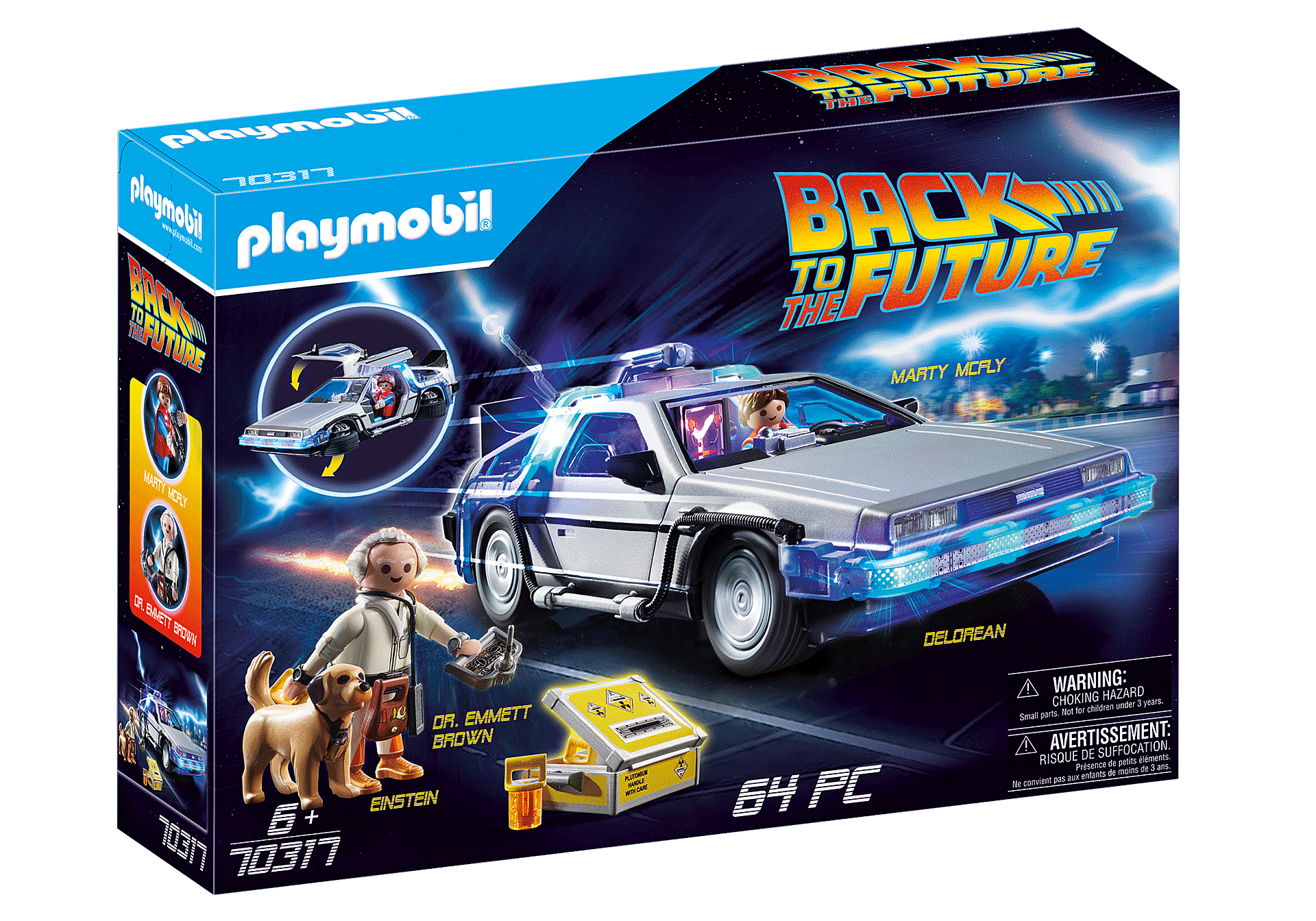 70317 Back to the Future DeLorean zoom image2
