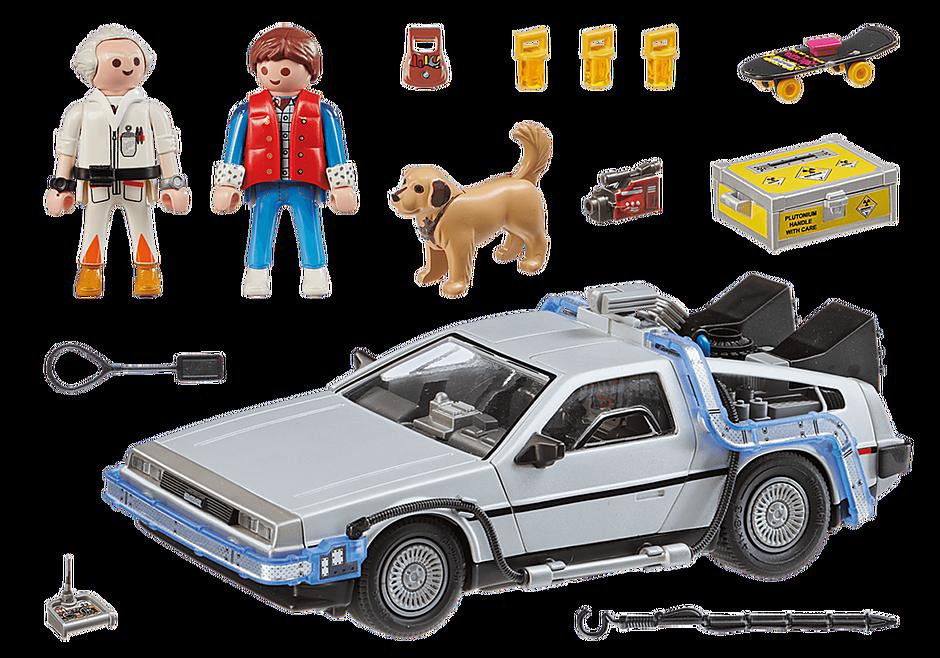 70317 Back to the Future DeLorean detail image 3
