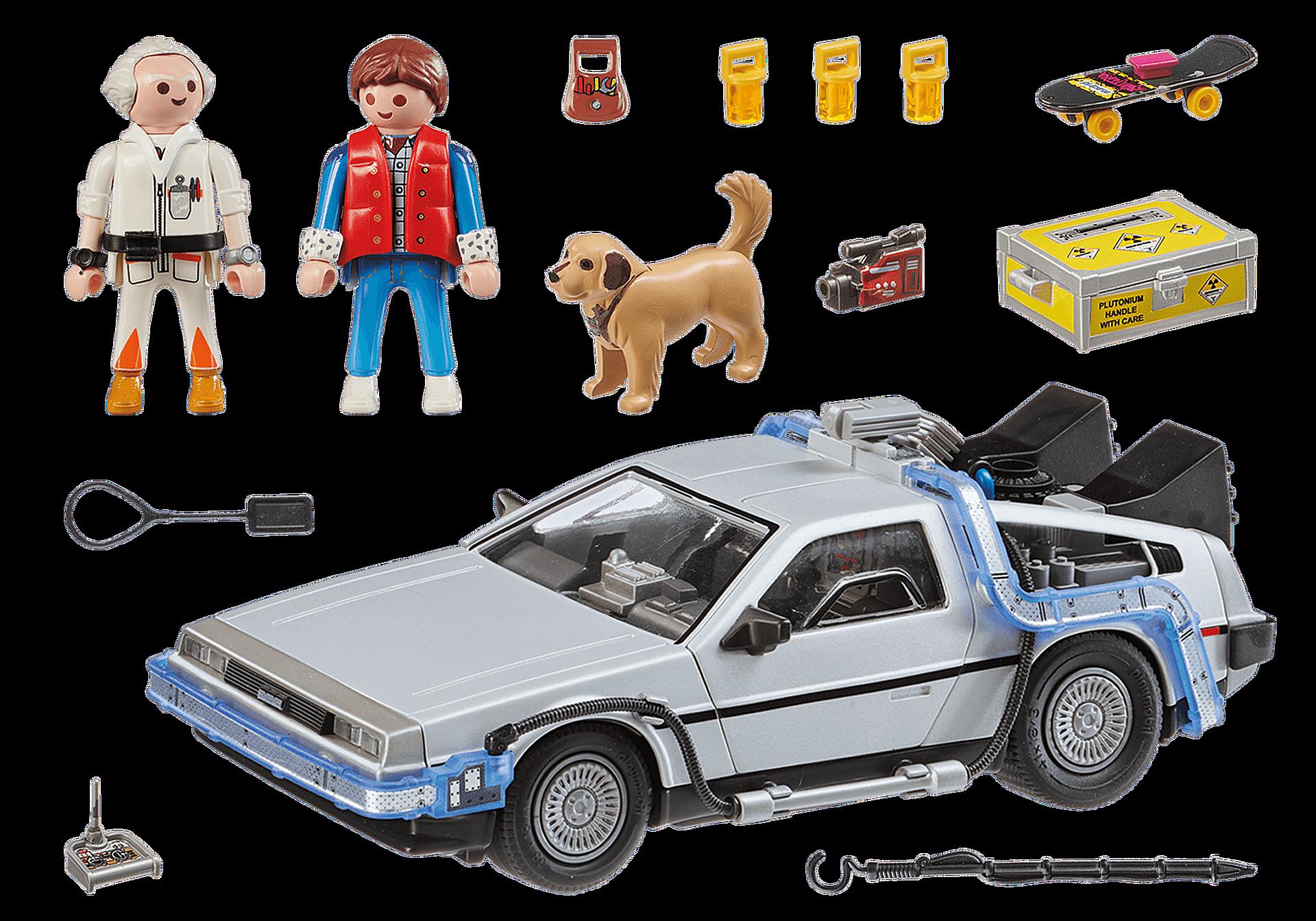 70317 Back to the Future DeLorean zoom image3
