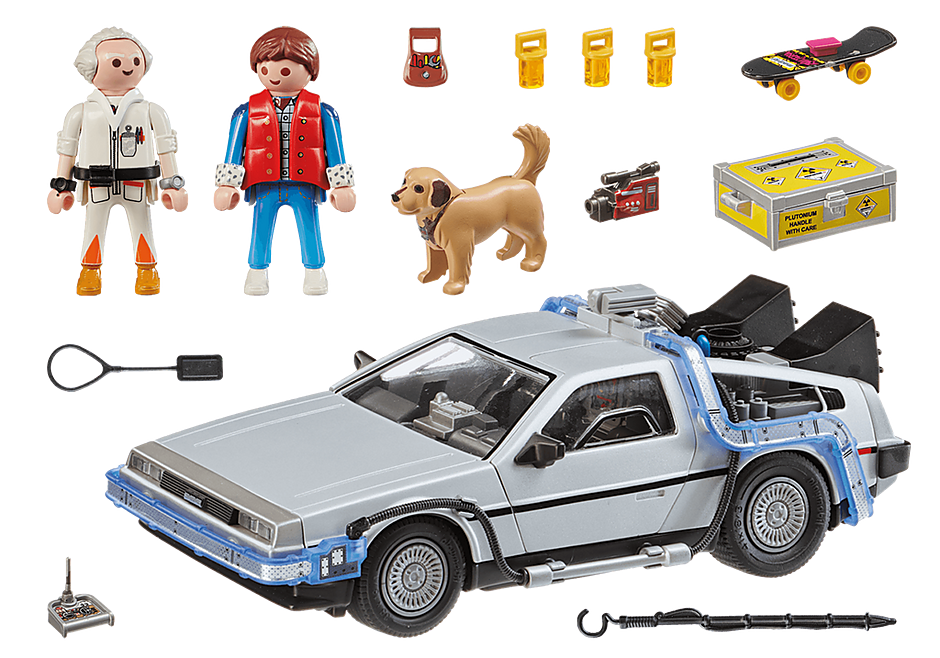 70317 Back to the Future Marty Mcfly y Dr. Emmett Brown detail image 3