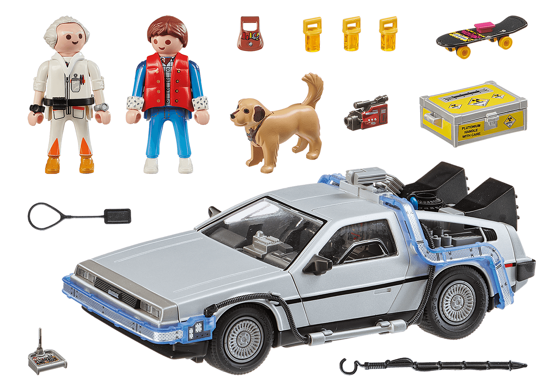 70317 Back to the Future Marty Mcfly y Dr. Emmett Brown zoom image3