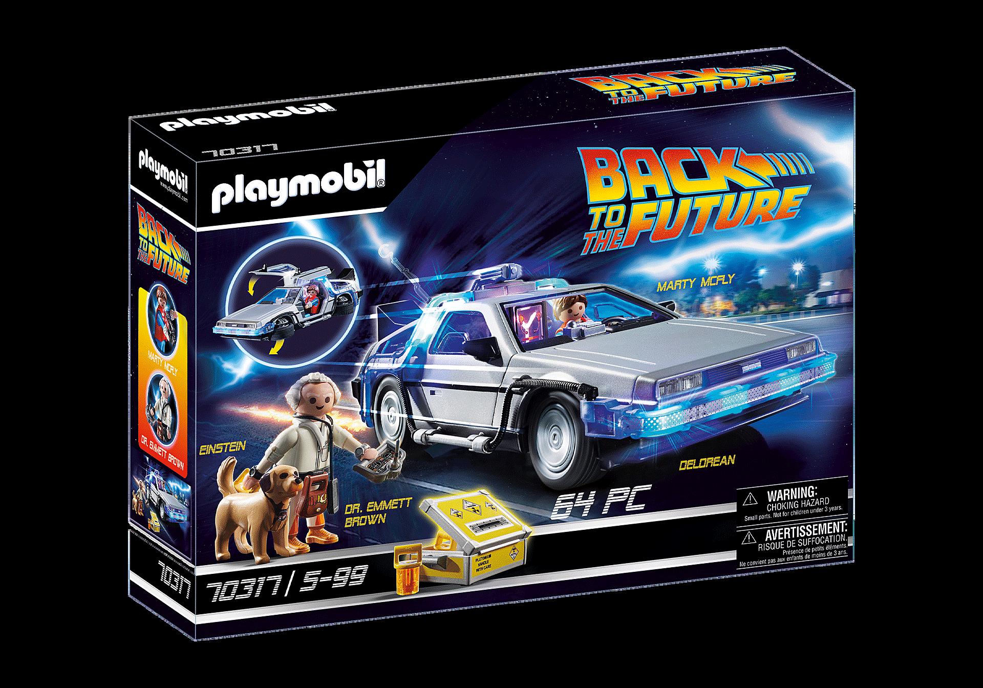 70317 Back to the Future Συλλεκτικό όχημα Ντελόριαν zoom image2