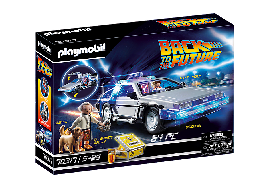 70317 Back to the Future Marty Mcfly y Dr. Emmett Brown detail image 2