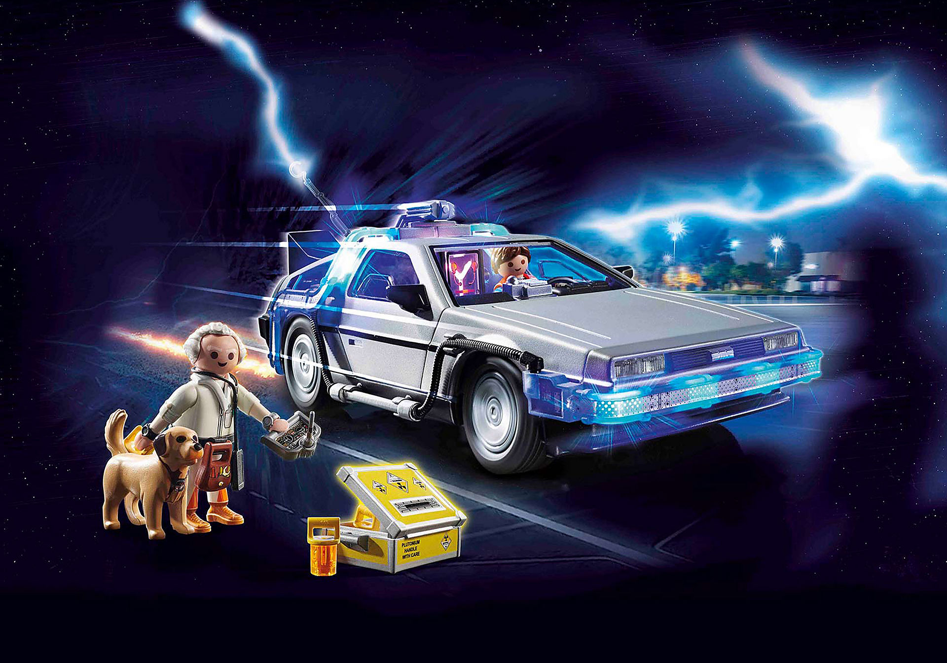 70317 Back to the Future Marty Mcfly y Dr. Emmett Brown zoom image1