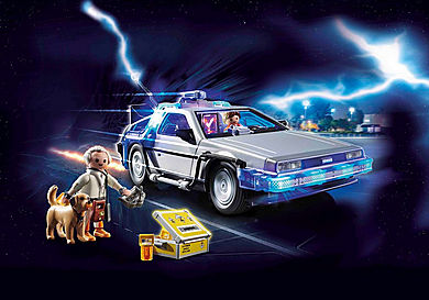 70317 Back to the Future Marty Mcfly y Dr. Emmett Brown