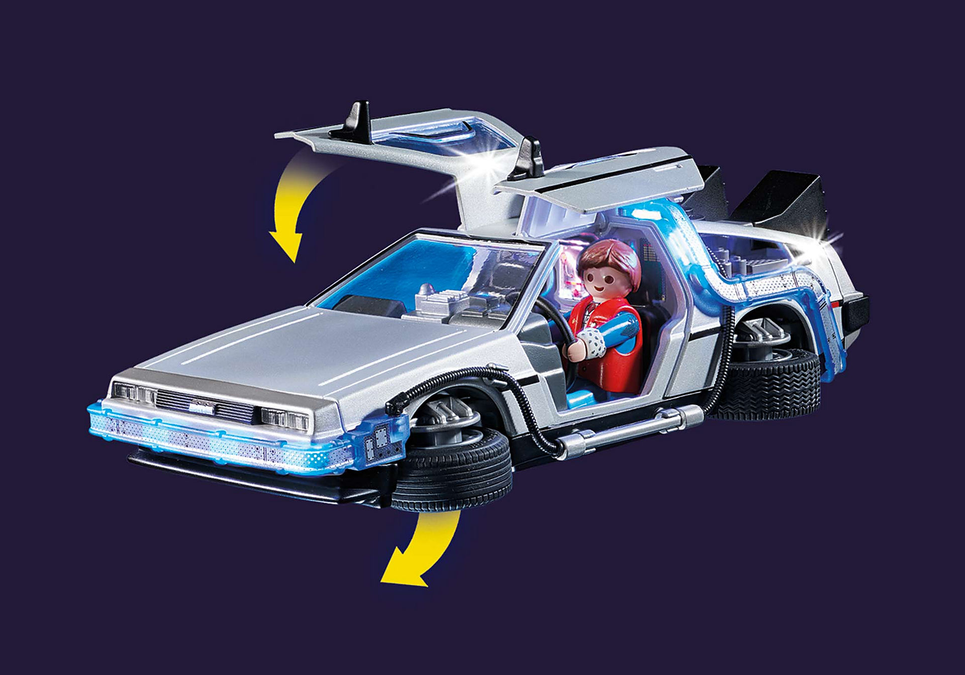 70317 Back to the Future Συλλεκτικό όχημα Ντελόριαν zoom image4
