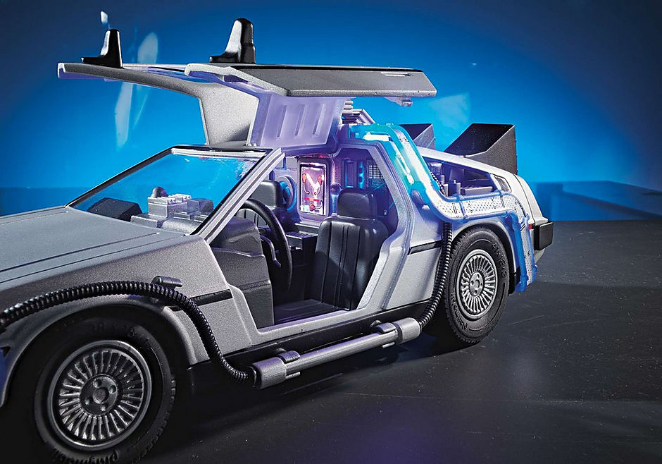 70317 Back to the Future Marty Mcfly y Dr. Emmett Brown detail image 6