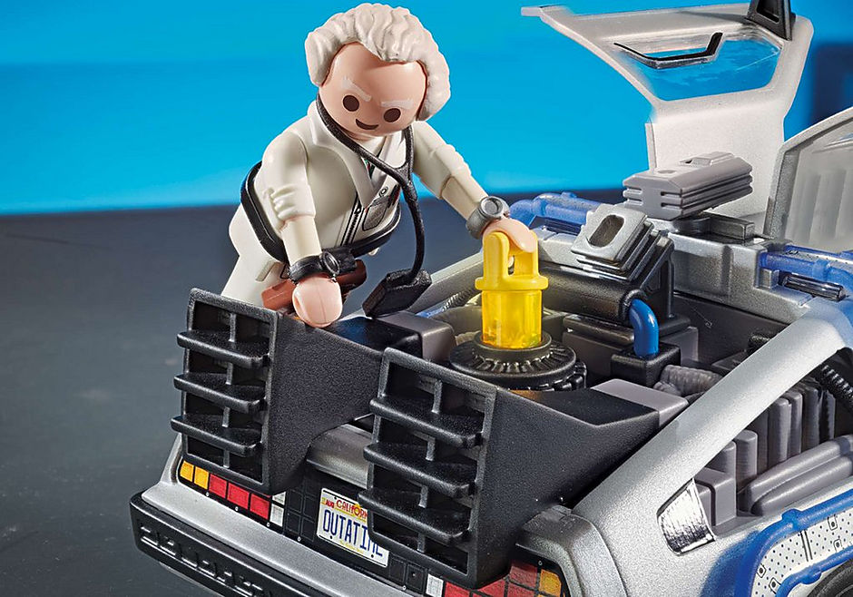 70317 Back to the Future Marty Mcfly y Dr. Emmett Brown detail image 7