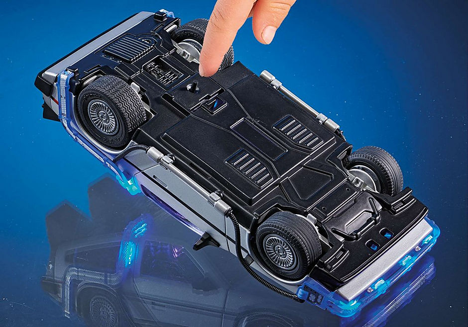 70317 Back to the Future DeLorean detail image 9
