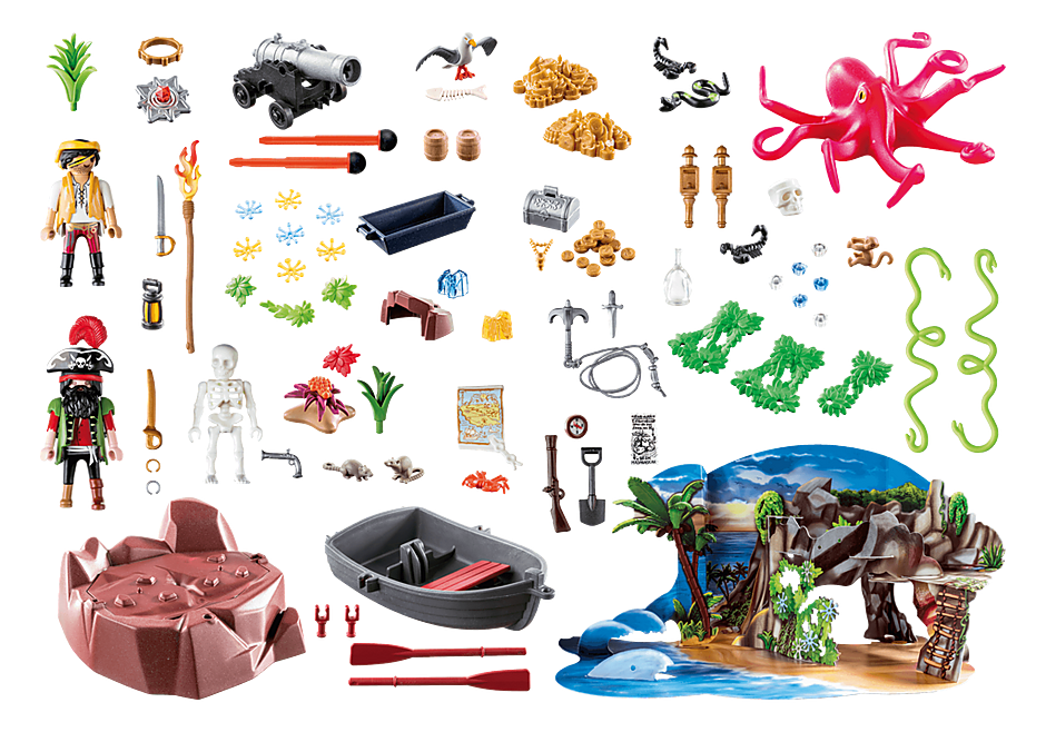 70322 Pirate Cove Treasure Hunt for the advent detail image 3