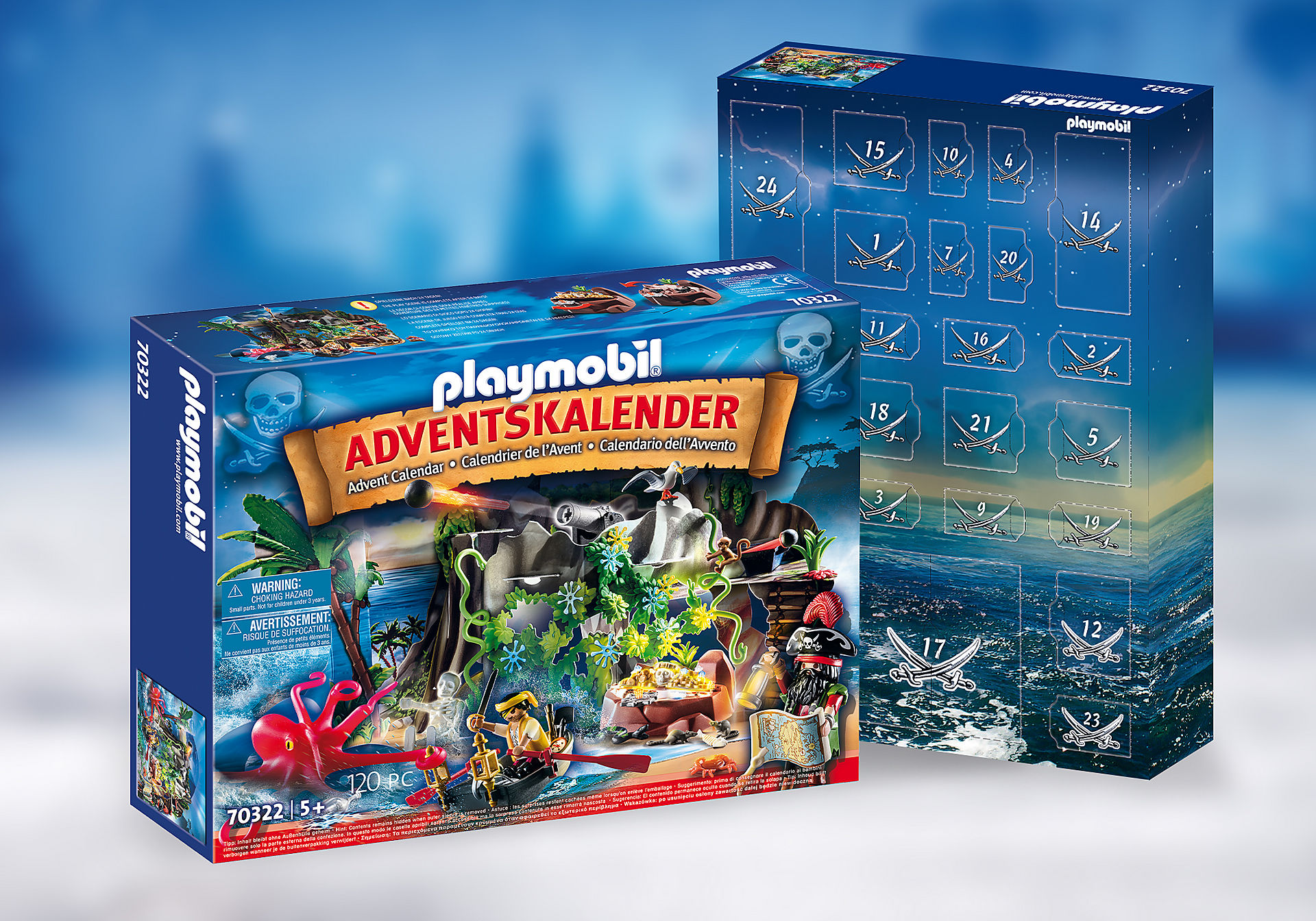 70322 Adventskalender 'Schattenjacht in de Piraten-inham' zoom image1