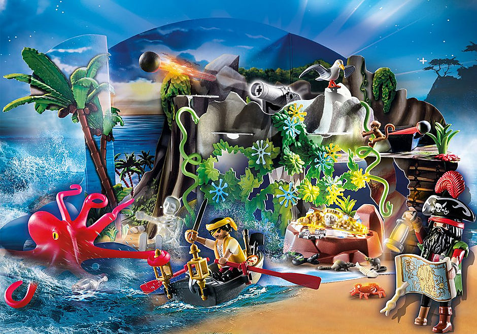 70322 Pirate Cove Treasure Hunt for the advent detail image 5