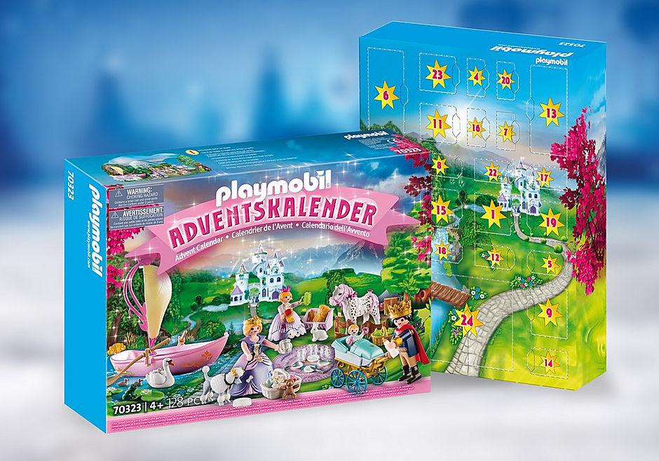 70323 Adventskalender Königliches Picknick im Park detail image 1