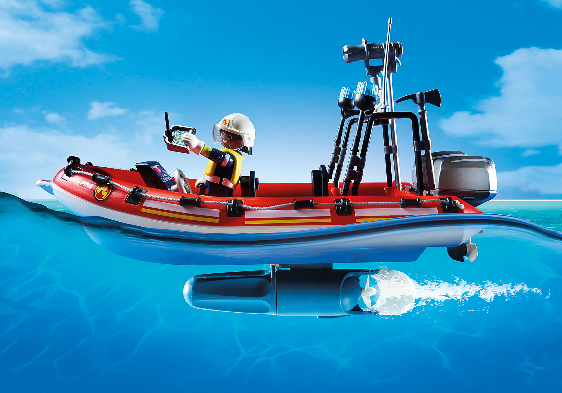 70335 Brandberedskab med helikopter og båd zoom image4