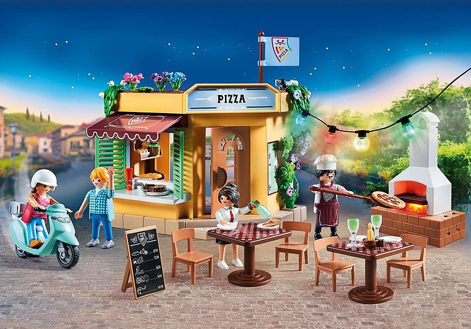 70336 Pizzeria med uteservering detail image 1