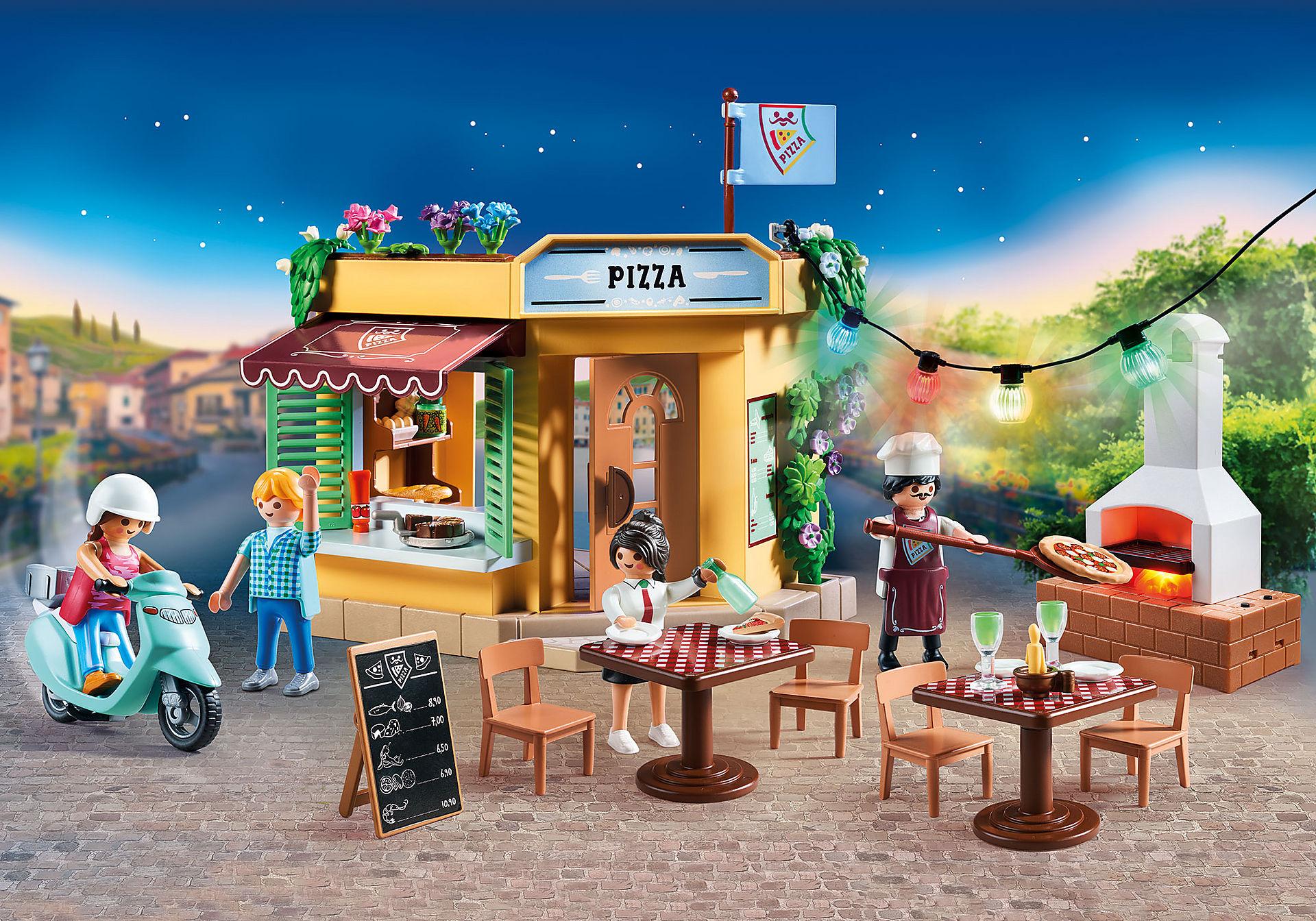 70336 Pizzeria med uteservering zoom image1