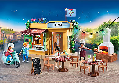 70336 Pizzeria med uteservering