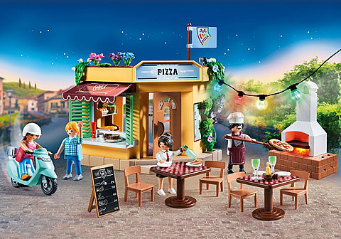 70336 Pizzeria mit Gartenrestaurant