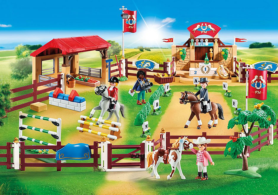 70337 Large Equestrian Tournament detail image 1