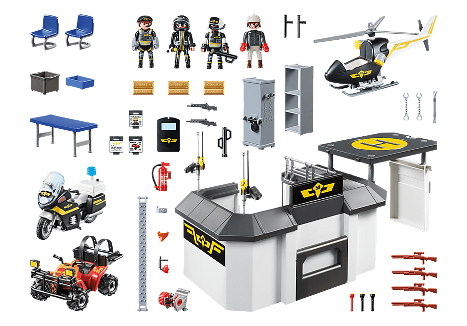 70338 Mega-Set SWAT detail image 3