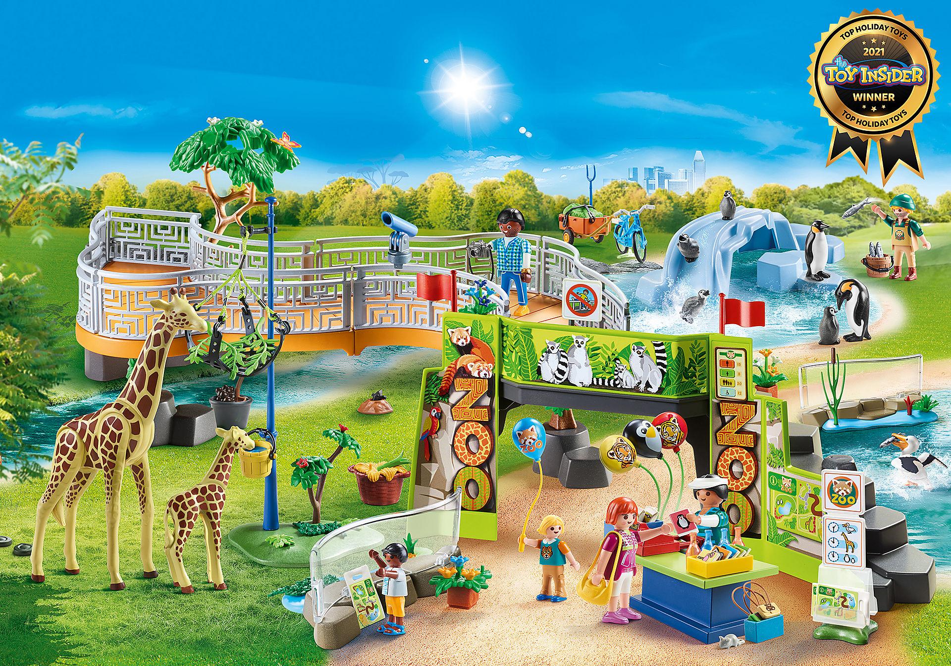 70341 Large City Zoo zoom image1