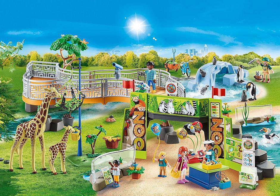 70341 Large City Zoo detail image 1