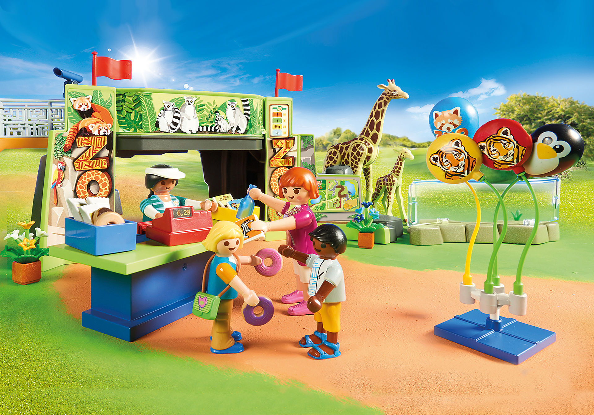 70341 Большой зоопарк zoom image4