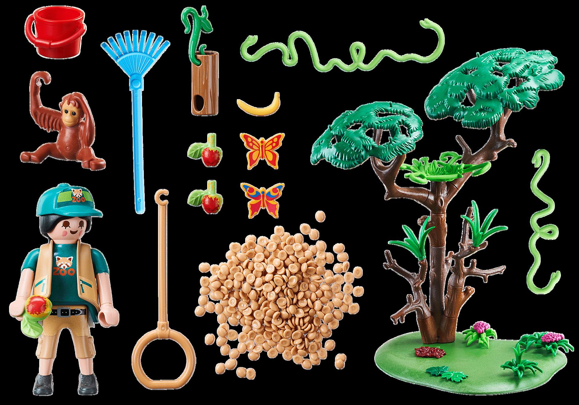 70345 Orangutans with Tree zoom image3