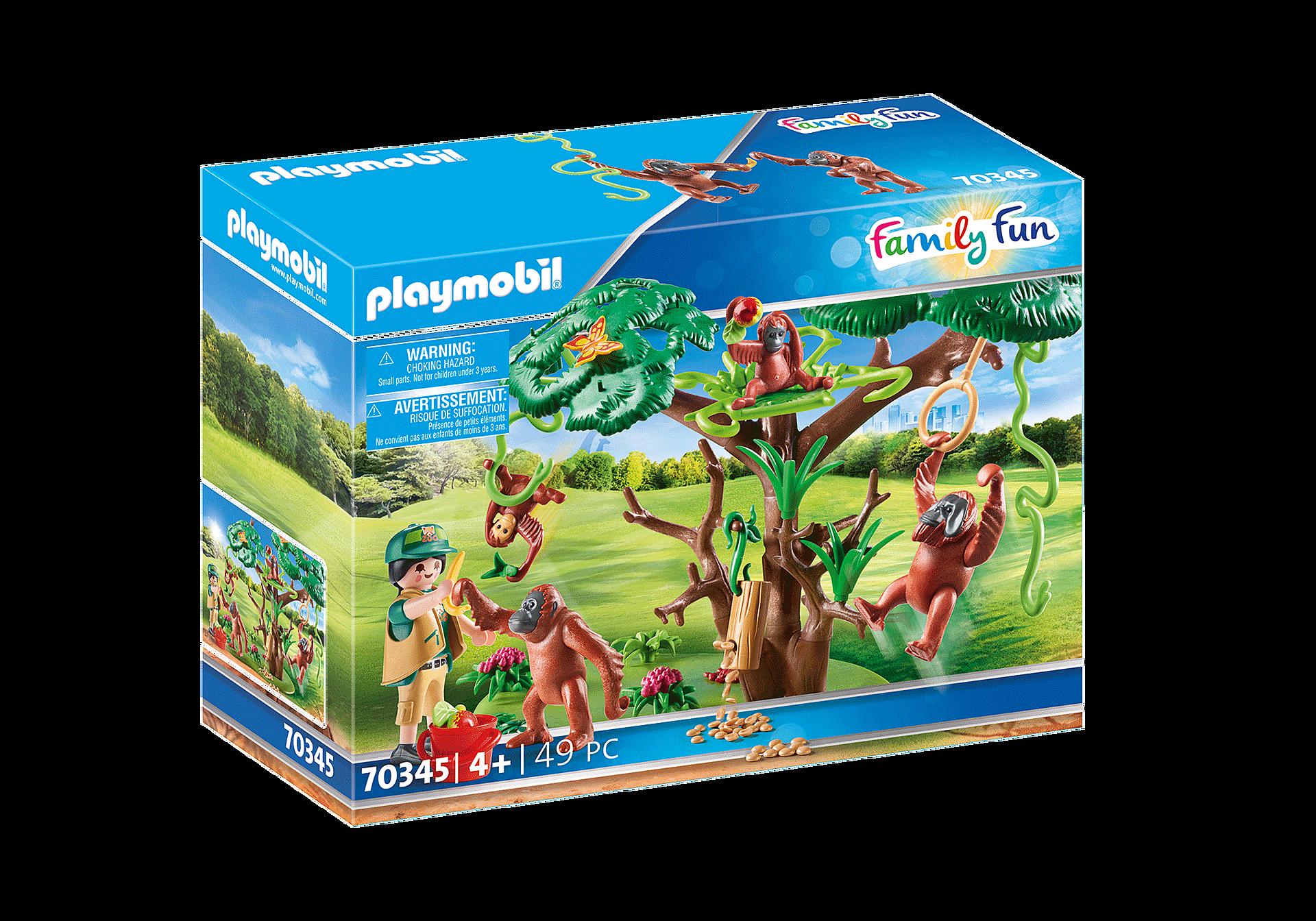 70345 Orangutanes con Árbol zoom image2