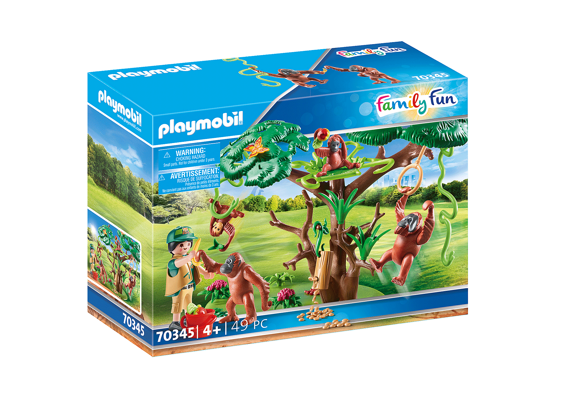70345 Orangutans with Tree zoom image2